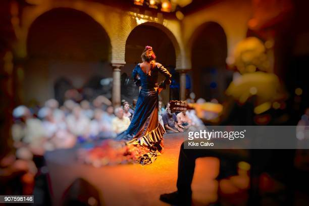 Flamenco show and tablao in Seville Spain Museo del Baile Flamenco