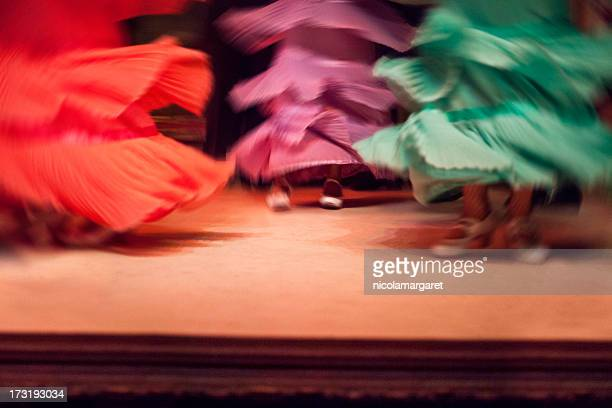 flamenco show - flamenco dancing stock photos and pictures
