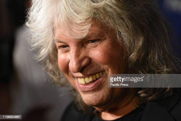 Flamenco singer José Mercé poses for media during a photocall before of his concert in Madrid