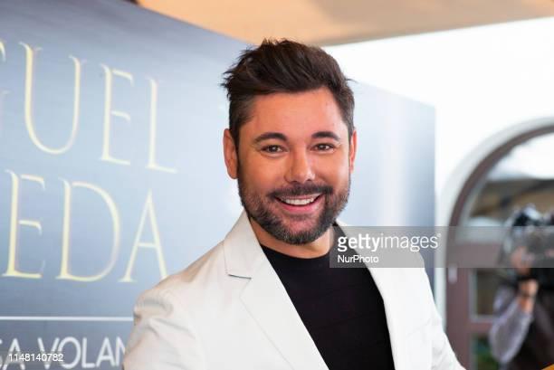 Flamenco singer Miguel Poveda receives a Gold Record for his album 'El Tiempo Pasa Volando' at Gran Melia Palacio de los Duques Hotel on June 05 2019...