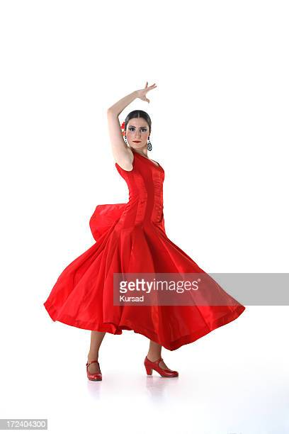 flamenco woman - flamenco dancing stock photos and pictures