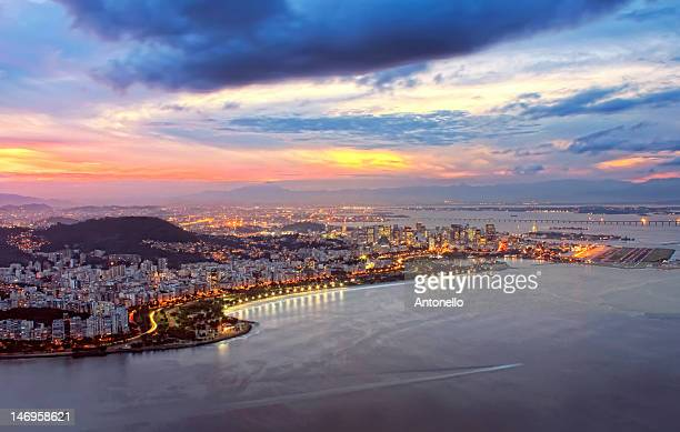 Flamengo Park and Downtown of Rio