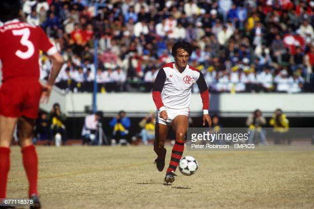 Flamengo's Leandro in action