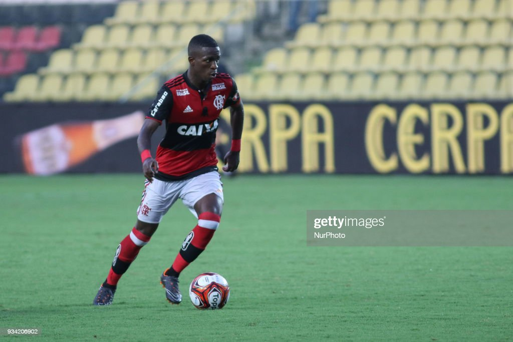 Flamengo's player Vinicius Junior