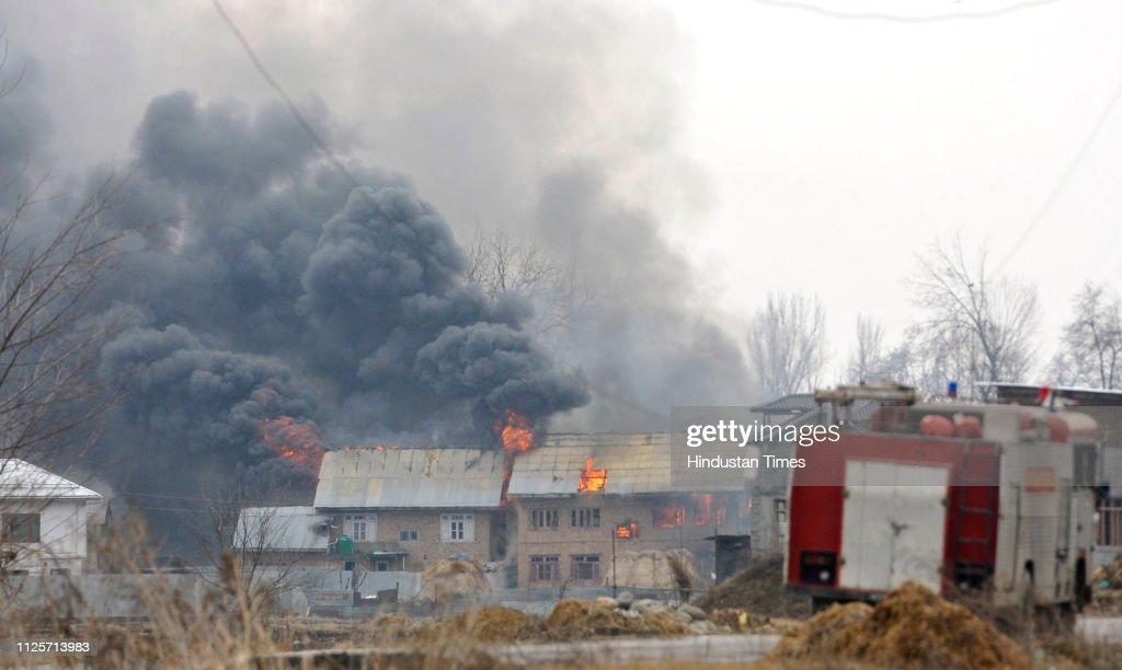 IND: Encounter In Pulwama, Kashmir