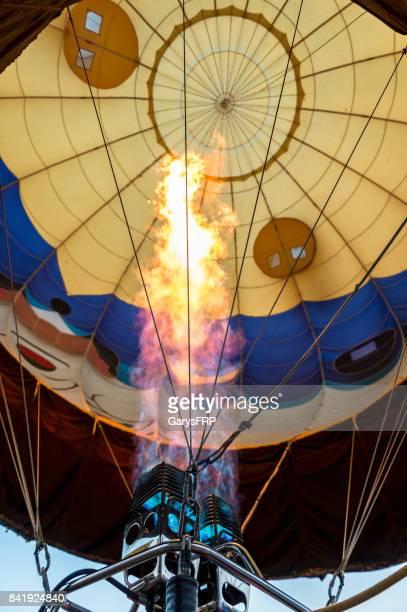 Flames Hot-Air Balloon Off the Wall Art Air Festival Oregon