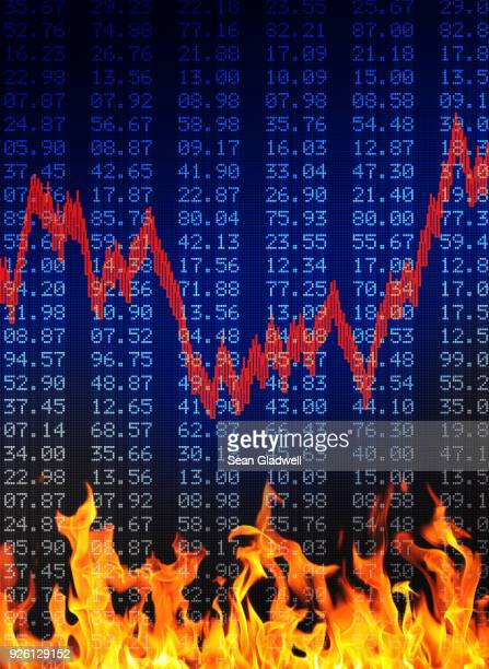 Flaming financial figures