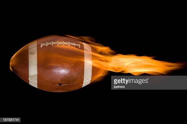 llamas de fútbol - rush fútbol americano fotografías e imágenes de stock
