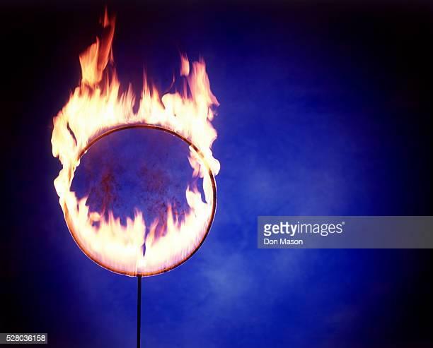 Flaming Hoop