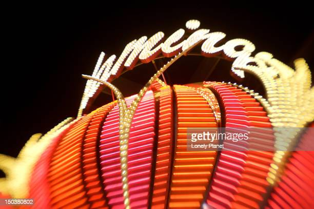 flamingo casino and hotel sign. - flamingo las vegas stock pictures, royalty-free photos & images