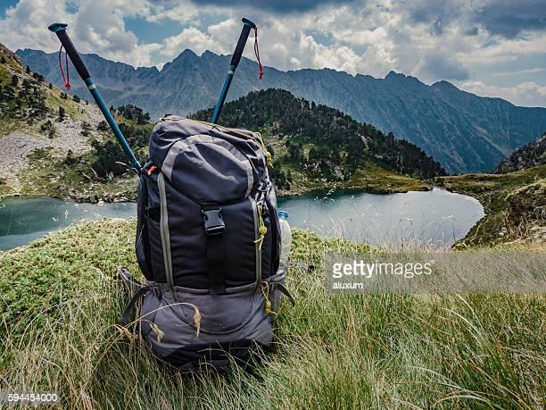 Flamisella glaciar lake Pirenees Catalonia Spain