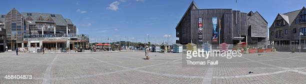 flamouth square - falmouth england stock pictures, royalty-free photos & images