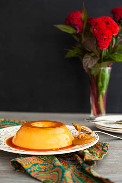Flan With 'dulce De Leche' Wall Art