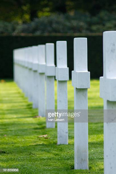 Flanders Field American Cemetery, Waregem, Belgium, 2012.