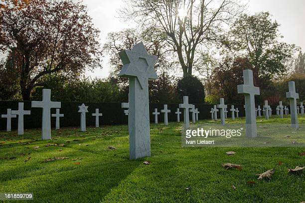 Flanders Field American Cemetery, Waregem, Belgium. World War One