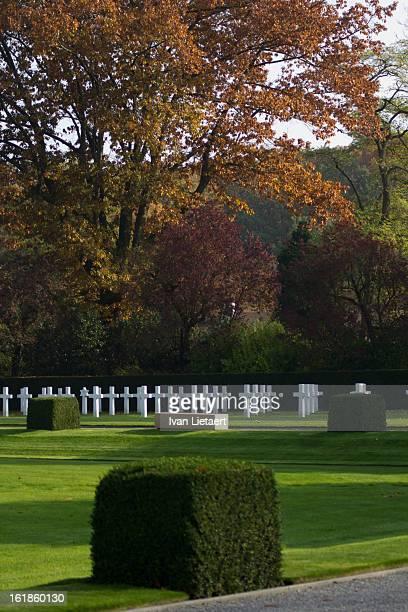 Flanders Field American Cemetery, Waregem, Belgium, World War One.