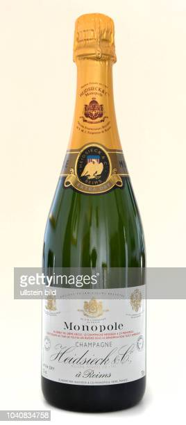 Flasche, Heidsieck Monopole, Champagner