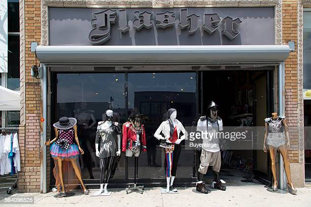 Flasher store on Melrose Avenue, an internationally renowned shopping, dining and entertainment destination in Los Angeles, California
