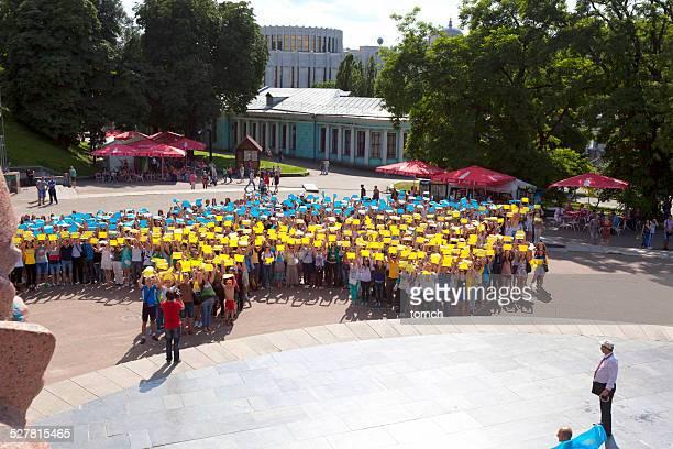 flashmob ユナイテッドウクライナ
