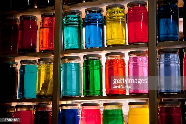 Flasks of color