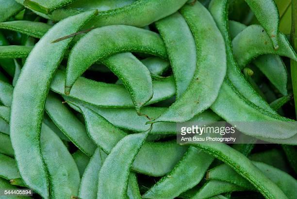 Flat beans