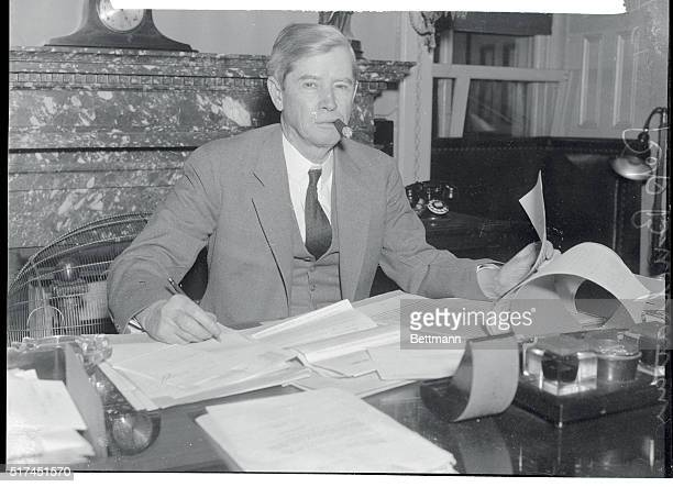 Flat declaration that Congress must never appropriate another nickel for direct federal relief was made by Rep James P Buchanan Chairman of the House...