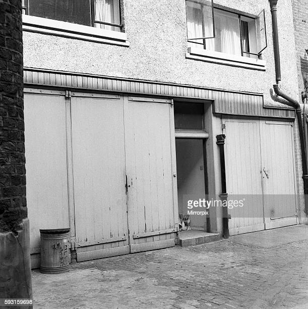 Flat of Dr Stephen Ward Bryanston Mews West Marylebone London 8th June 1963 Dr Stephen Ward osteopath and artist who became notorious as one of the...