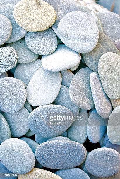 Flat Round Pebbles