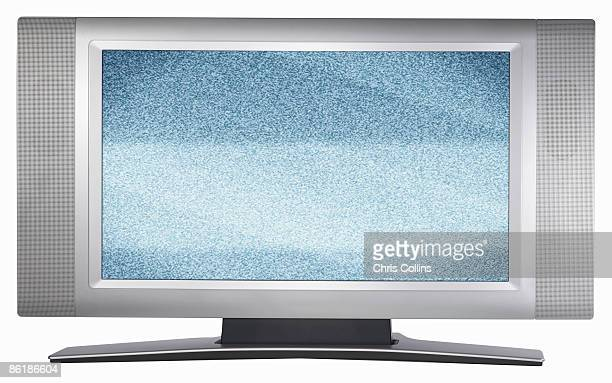 Flat screen TV monitor with bad reception