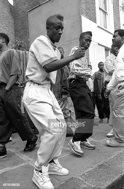 Flat Top Dancers Notting Hill Carnival 1990