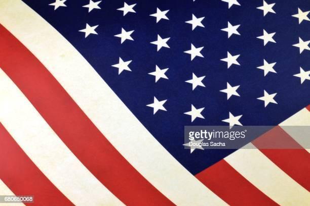 Flat USA flag