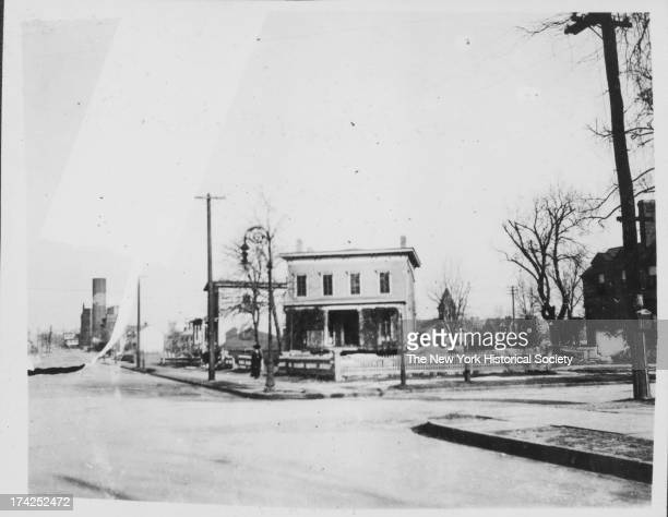 northeast corner of Washington Avenue and Lincoln Road New York New York late 19th or early 20th century