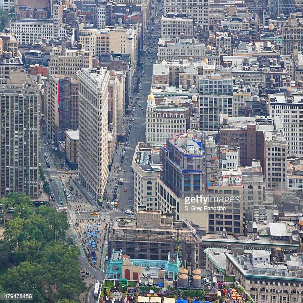 フラットアイアン街ニューヨーク - ユニオンスクエア ストックフォトと画像