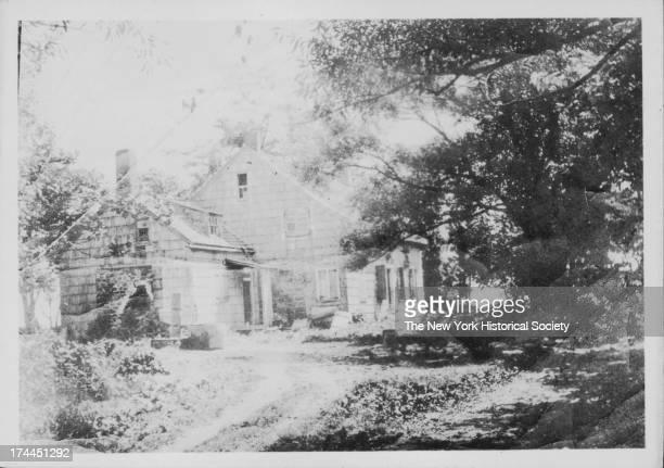 Johannes Lott house, built 1775, westerly side of Strom Kill, Avenue Q around E. 30th Street. Taken down c.1905, New York, New York, March 19, 1905.