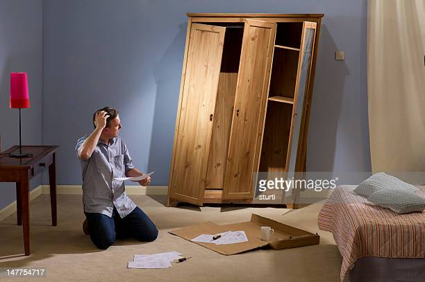 flatpack furniture man