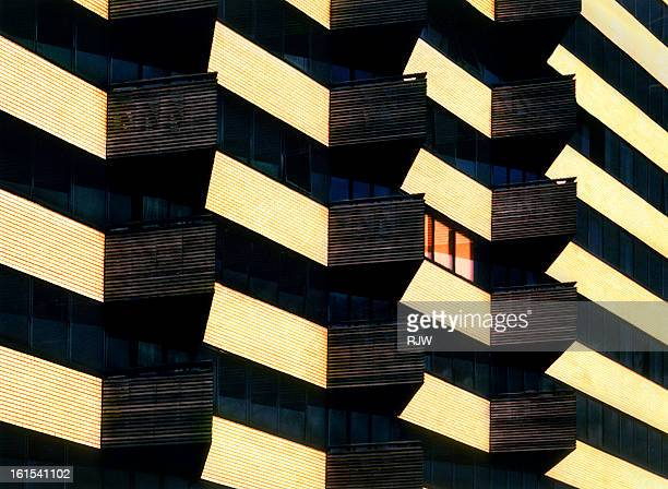 flats abstract - architecture stock pictures, royalty-free photos & images