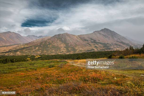 Flattop Mountain Near Anchorage, Alaska