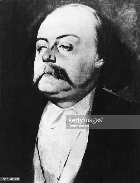 Flaubert Gustave Schriftsteller Frankreich Gemaelde von Eugene Giraud undatiert
