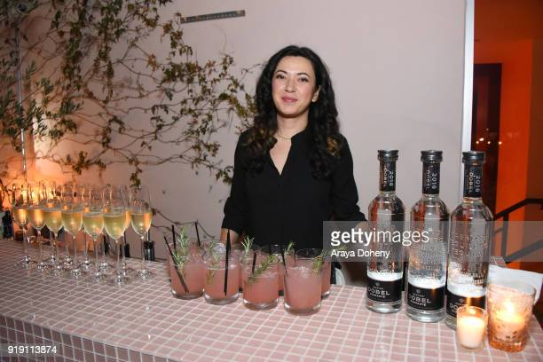 Flaunt Magazine Dinner with Nike and Revolve on February 15 2018 in Los Angeles California