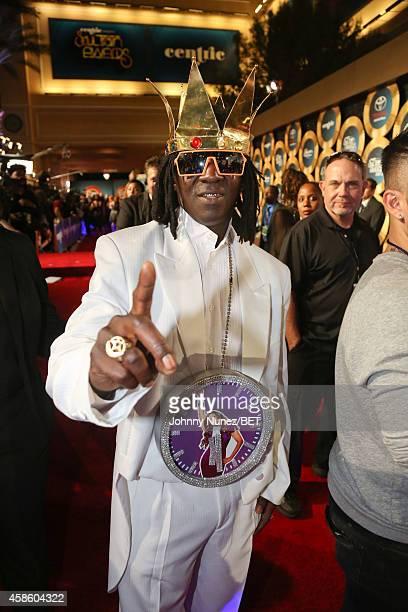 Flava Flav attends 2014 Soul Train Music Awards on November 7 2014 in Las Vegas Nevada