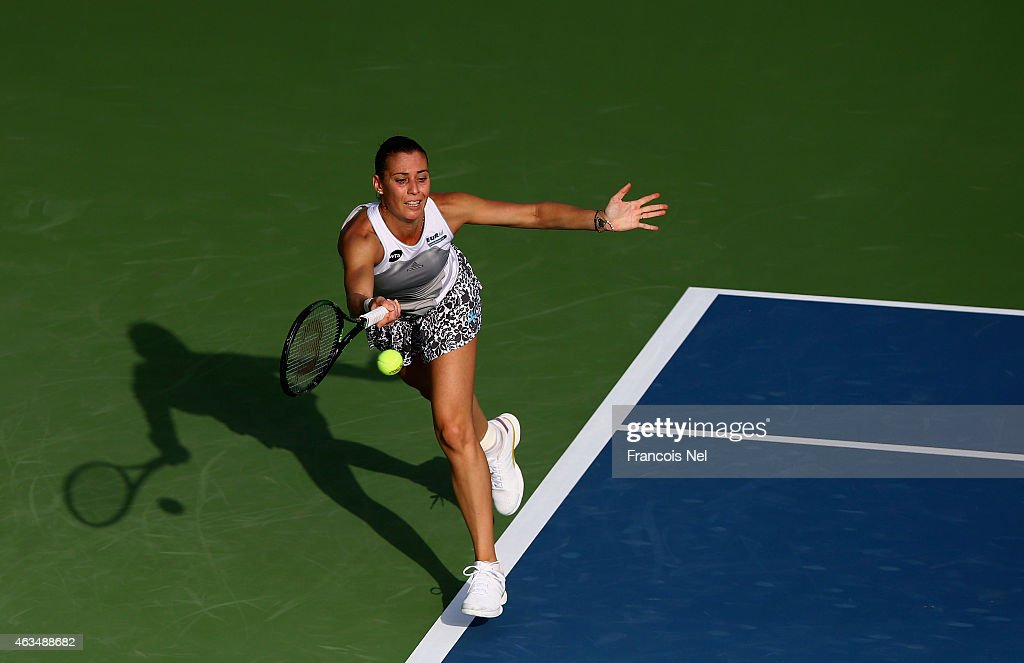 WTA Dubai Duty Free Tennis  Championship - Day One : News Photo
