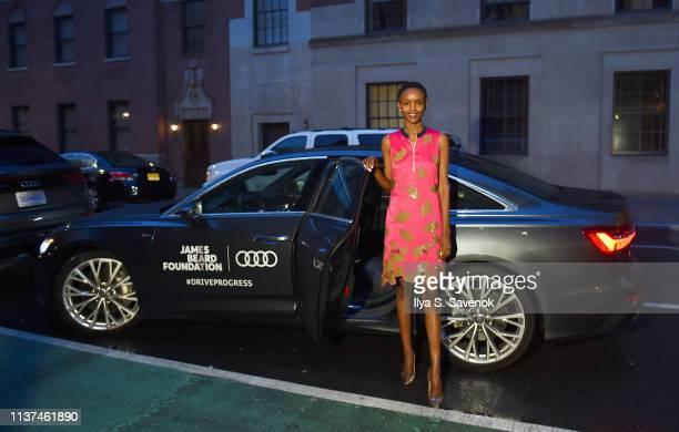 Flaviana Matata attends Audi #DriveProgress dinner series at the James Beard House featuring chefs of the Women's Entrepreneurial Leadership Program...