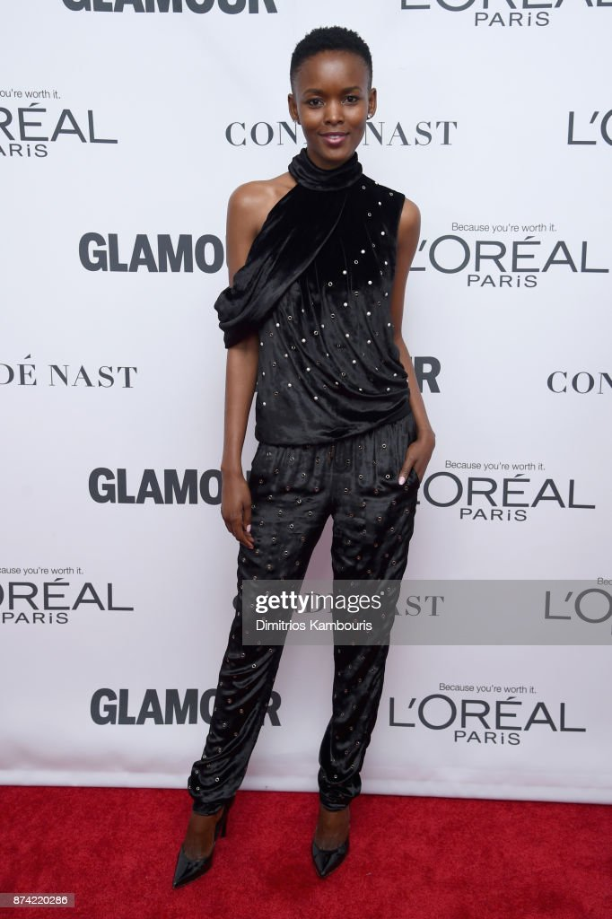 Flaviana Matata attends Glamour's 2017 Women of The Year Awards at Kings Theatre on November 13, 2017 in Brooklyn, New York.