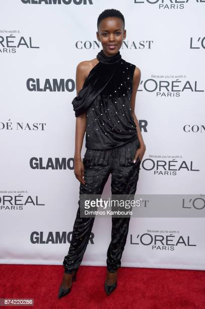 Flaviana Matata attends Glamour's 2017 Women of The Year Awards at Kings Theatre on November 13 2017 in Brooklyn New York