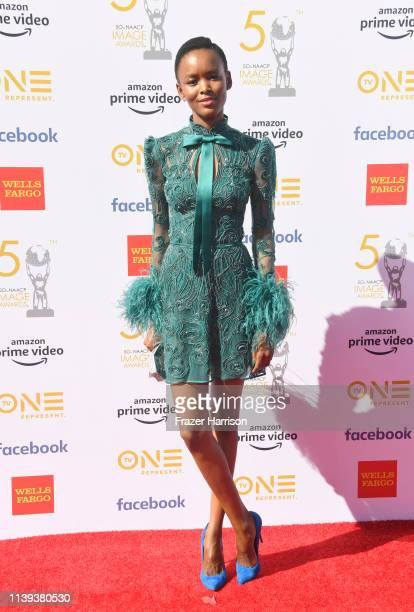 Flaviana Matata attends the 50th NAACP Image Awards at Dolby Theatre on March 30 2019 in Hollywood California