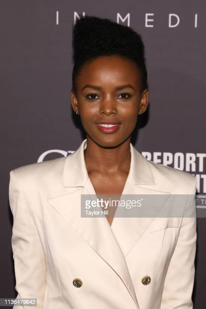 Flaviana Matata attends The Hollywood Reporter's 9th Annual Most Powerful People In Media at The Pool on April 11 2019 in New York City
