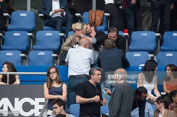Flavie Flament attends Paul McCartney Show at Stade de France on June 11 2015 in Paris France