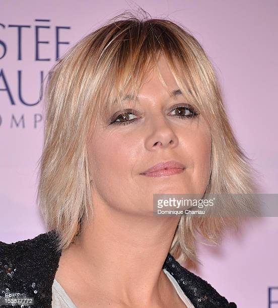 Flavie Flament attends the '20 Ans Du Ruban Rose' event organized by Estee Lauder during Breast Cancer Awareness Month on October 10 2012 in Paris...
