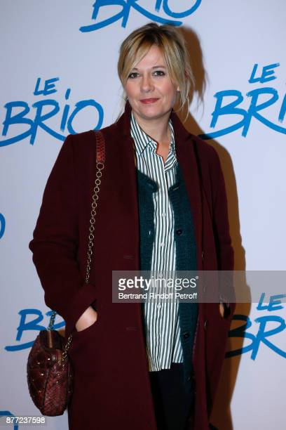 Flavie Flament attends the 'Le Brio' movie Premiere at Cinema Gaumont Opera Capucines on November 21 2017 in Paris France