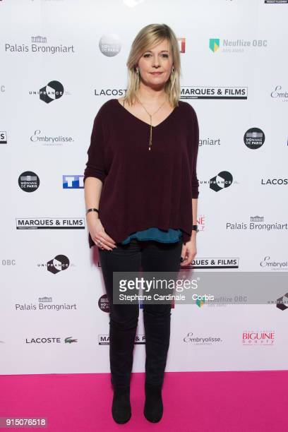 Flavie Flament attends the 'Trophees du Film Francais' 25th Ceremony at Palais Brongniart on February 6 2018 in Paris France